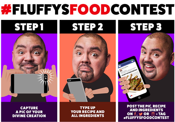 Fuse is giving Fluffy fanatics a chance to show off their foodie skills and win some serious moola. One grand prize winner will receive a check for $1,000, a Fuse Bluetooth portable speaker, an Apple Watch, and have his/her winning recipe featured during the Fluffy's Food Adventures finale episode.