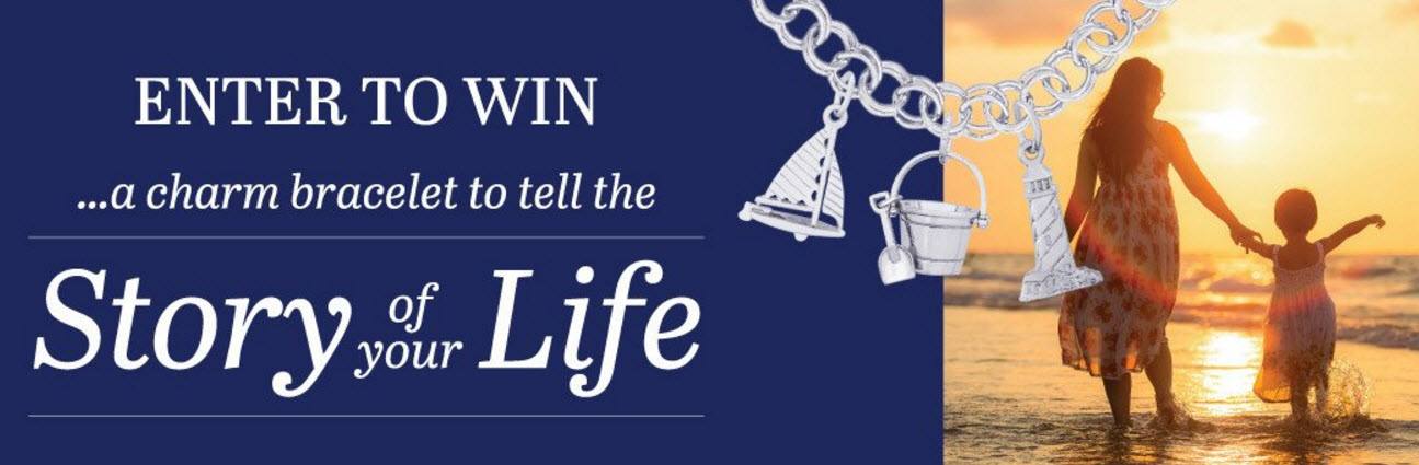 Enter to win a Rembrant Charms bracelet to tell the story of your life. Rembrandt Charms has been designing and handcrafting charms for over 45 years. It's our mission to create a variety of high quality charms for every occasion, memory, emotion, event or story
