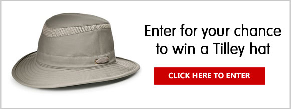 Enter for your chance to win a Tilley hat of Canada