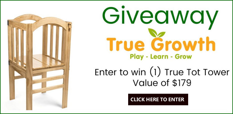 Enter for your chance to win True Tot Tower valued at $179.