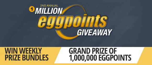 2nd Annual 1 Million EggPoints Giveaway