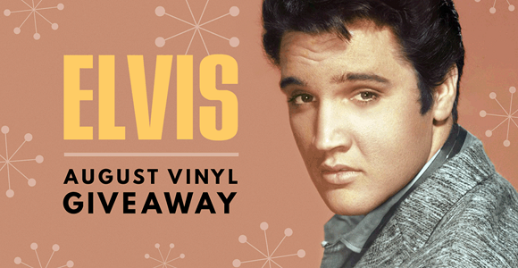 31 Days of Elvis Giveaways (Daily Prizes)
