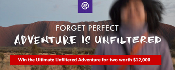 Adventure Is Unfiltered Sweepstakes