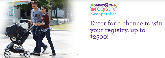 Baby sweepstakes online