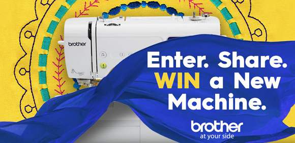 Brother Sewing Machine Sweepstakes