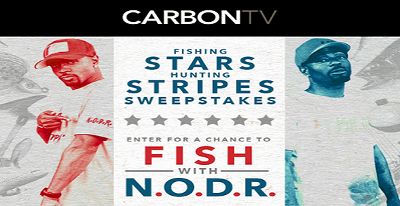CarbonTV's Fishing Stars Hunting Stripes Sweepstakes