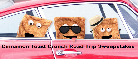 Enter Here to WIN a one year supply of Cinnamon Toast Crunch cereal