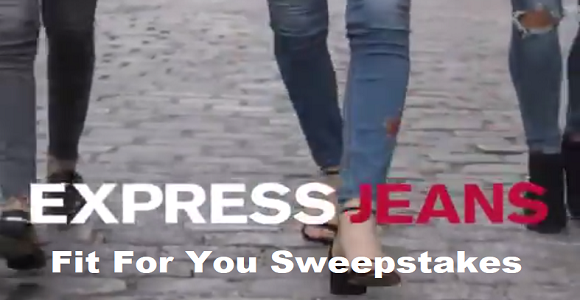 Express Jeans Fit For You $3,000 Twitter Sweepstakes
