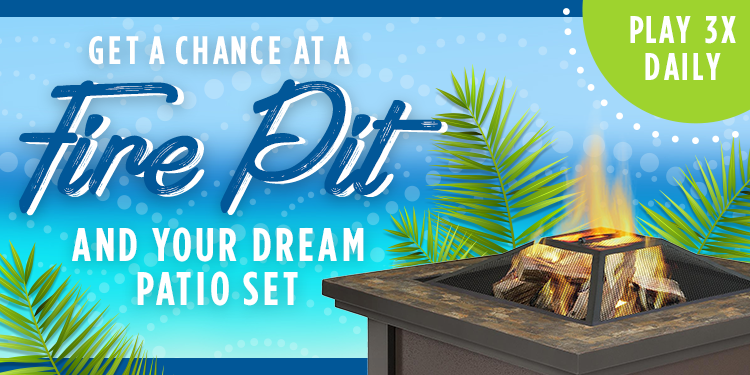 Shop Your Way Fancy Fire Pit Instant Win Game