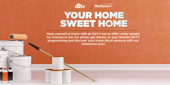 Enter the HGTV Home Sweet Home Sweepstakesdaily for your chance to win fun prizes and discover your home decor persona with the HGTV interactive quiz.