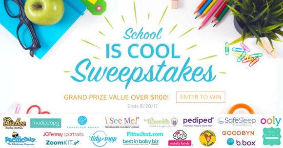 I See Me School Is Cool Sweepstakes