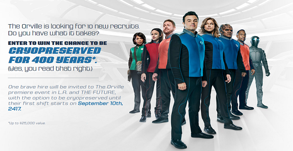 Join the Orville Sweepstakes
