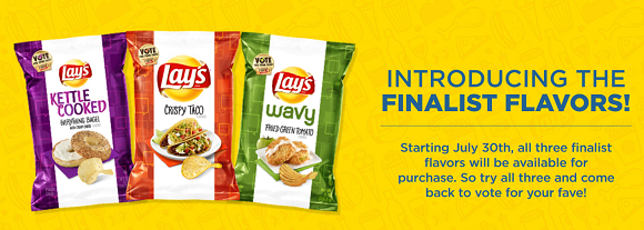 Lay's Do Us A Flavor The Pitch Voting Sweepstakes