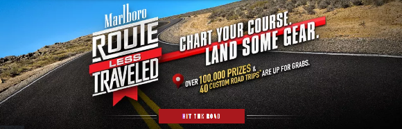 Marlboro Route Less Traveled Sweepstakes