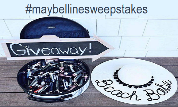 QUICK ENDING! Maybelline National Lipstick Day Instagram Sweepstakes