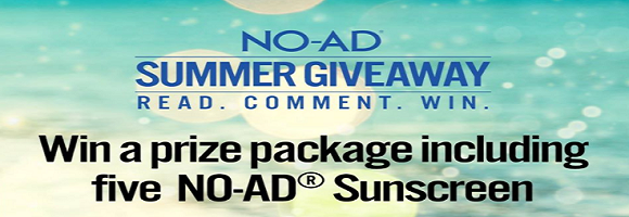 NO-AD Sun Care Summer Giveaway