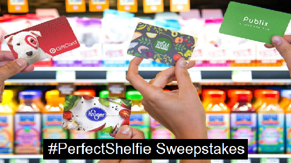 Perfect Bar wants YOU to show them where you find Perfect Bar in the fridge with the #Perfectshelfie, for the chance to win up to $500 in grocery gift cards!