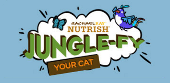 Adorable cat photos and complete nutrition, together at last. Everyone knows your cat is meant to rule, and with Jungle-fy Your Cat, they can! Just match your photo with one of the fun captions to show off your cat's wild side.