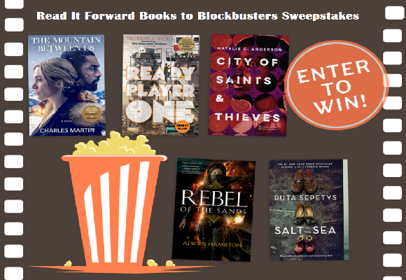 Read It Forward Books to Blockbusters Sweepstakes