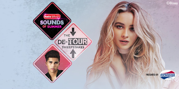 Sabrina Carpenter and Alex Aiono