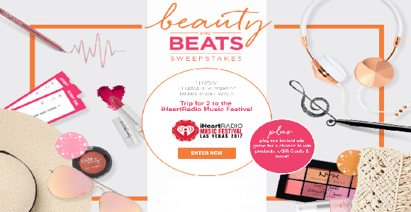 Ulta Beauty and Beats Instant Win Game and Sweepstakes