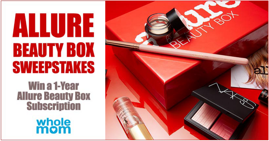 Enter for a 1 Year Allure Beauty Box Subscription