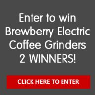 Win a Brewberry Bean Grinder