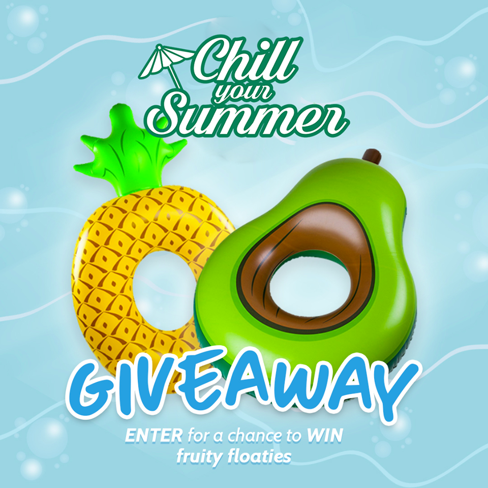 Chill Your Summer with a cool giveaway from Del Monte Fresh Produce! Share how you stay cool for a chance to win fruity floaties.
