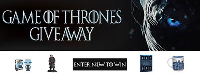 Enter the Game of Thrones Giveaway