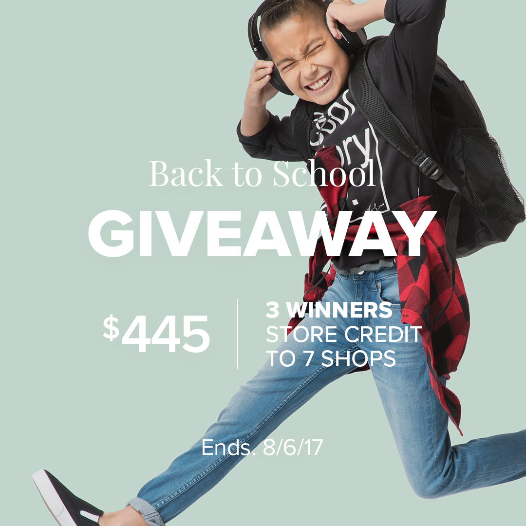 Shake the dust off that backpack because school is almost in session. Get ready for it with the ultimate back-to-school giveaway from Jane.com