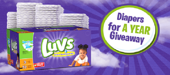 Free Luvs Diapers for a Year Sweepstakes