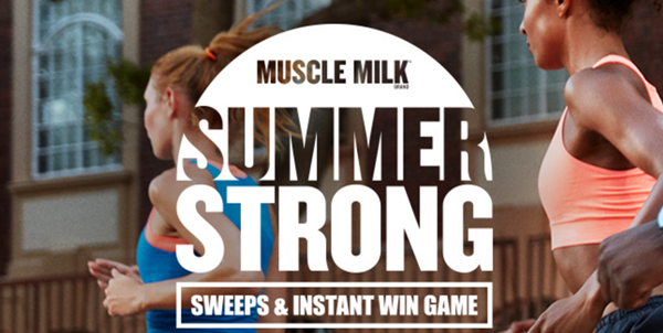 Muscle Milk Brand Summer Strong Sweeps & Instant Win Game