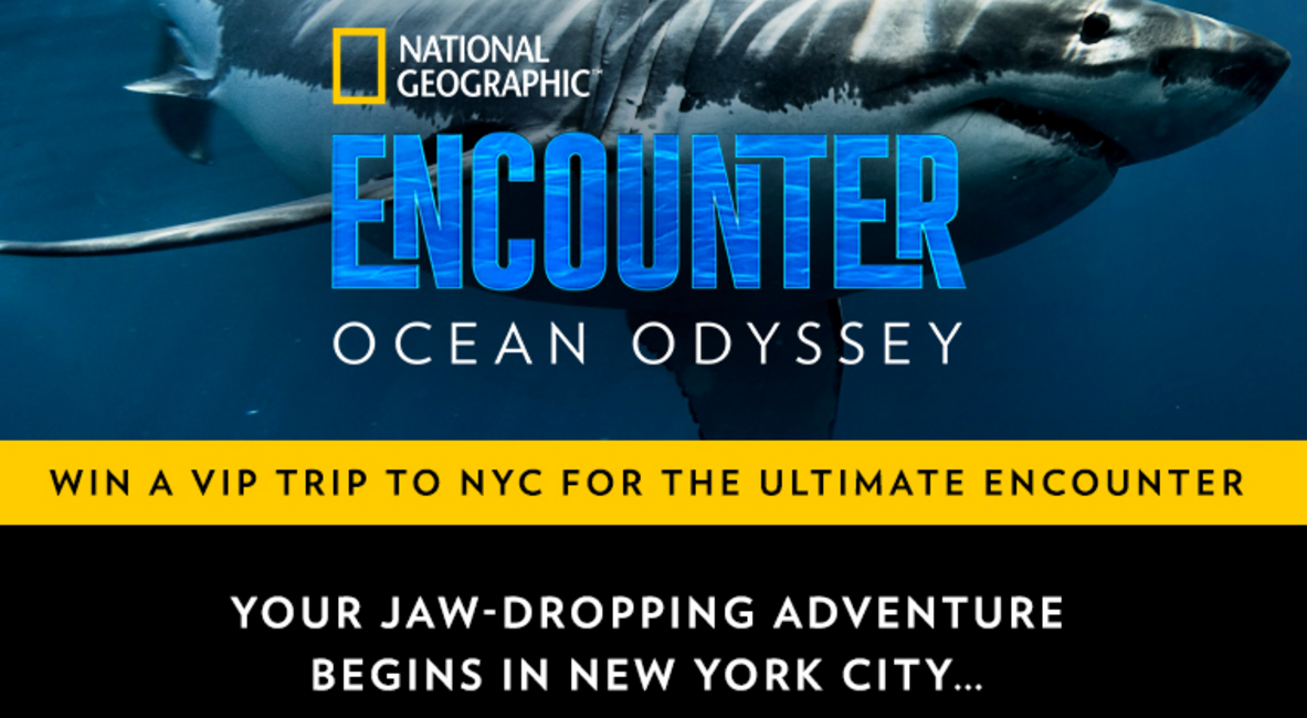 National Geographic ENCOUNTER: Ocean Odyssey Sweepstakes