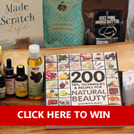 Enter to Win $250+ Worth of ALL You Need To Create Your Own Skincare Products