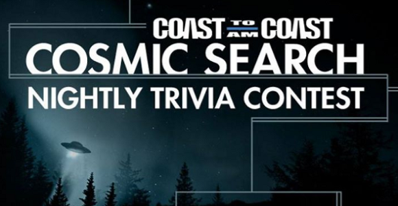 You can win $500 by answer trivia question as your cosmic knowledge is tested about all things Coast to Coast.