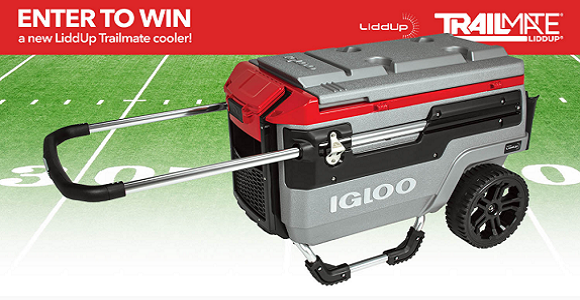 Enter to WIN the ultimate all-terrain cooler from Liddup