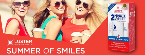 Luster White Summer of Smiles Sweepstakes