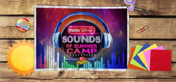 Radio Disney Sounds of Summer Camp Sweepstakes