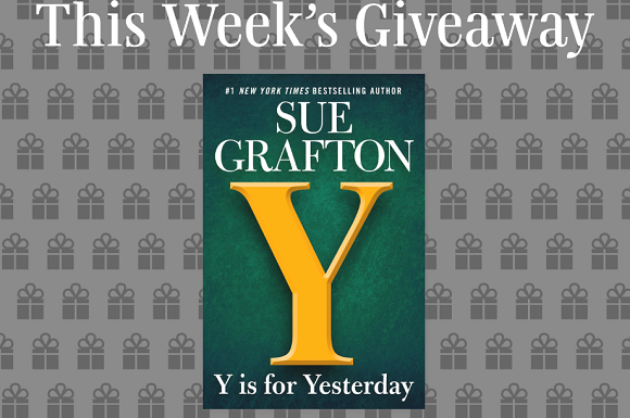 Read It Forward is giving away 100 copies of the book, Y Is For Yesterday by New York Times Bestselling author, Sue Grafton.