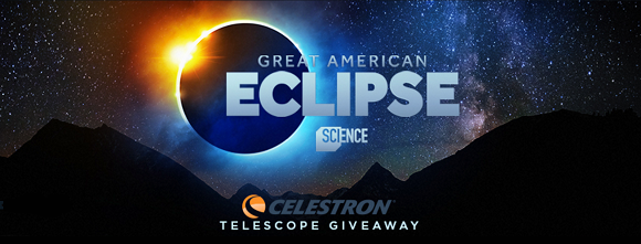 DAILY WINNERS! Science Channe is giving away a Celestron Telescope each day