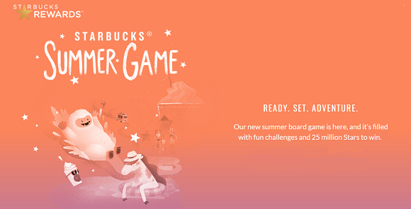 Starbucks new summer board game is here and it's filled with fun challenges and over $1,000,000 millions in prizes to be won