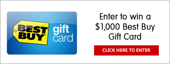 Enter for your chance to win a $1,000 Best Buy Gift Card. Also, come back daily to play the VSP EnVision Object Finder Game for your chance to win a$25 Best Buy Gift Card instantly