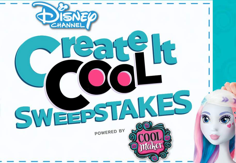 Enter daily for your chance to win a trip to LA to create cool designs with Kayla Maisonet from Disney Channel's Stuck in the Middle and a Cool Maker Designer.