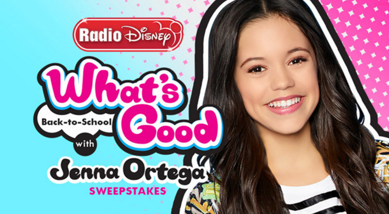 "You've been listening to her show and know that Jenna Ortega knows ""What's Good"" in trends and fashion! So this school year, one lucky winner will win a very stylish grand prize. Not only will you win a trip to LA but you will also go on a back-to-school shopping trip with Jenna herself."