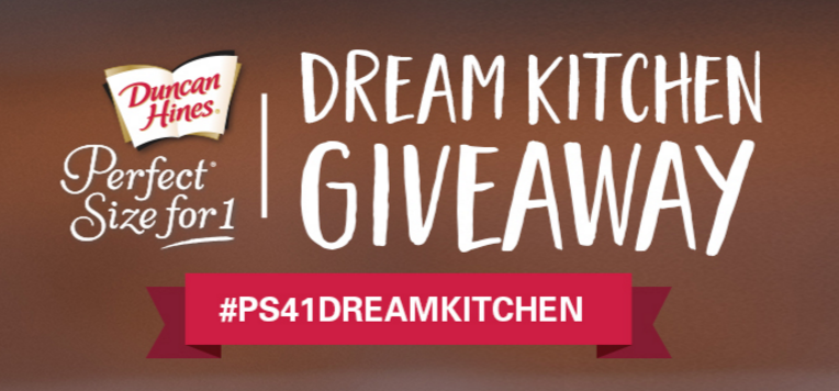 Duncan Hines Perfect Size for One Dream Kitchen Giveaway