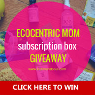 Ecocentric Mom Subscription Box Giveaway