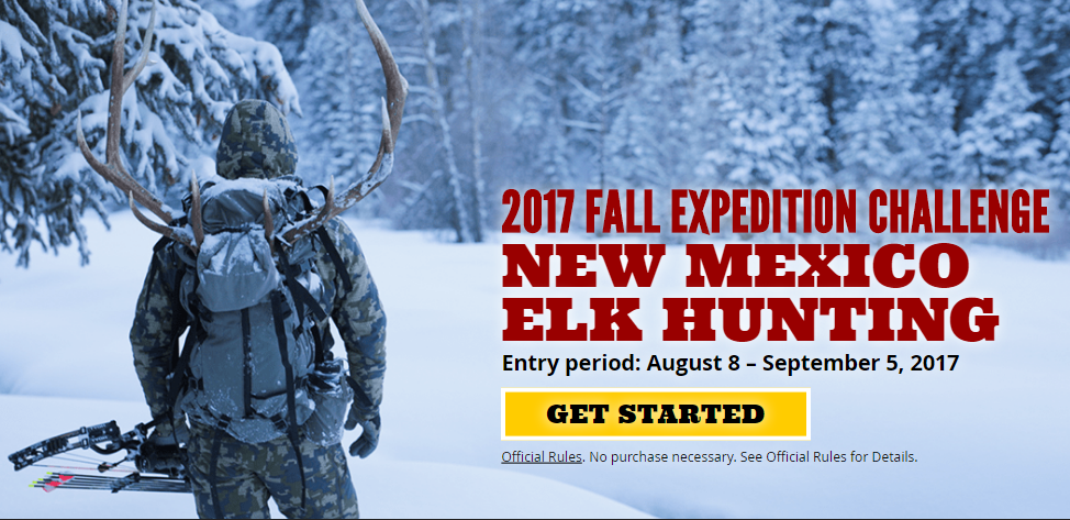 FOR SERIOUS HUNTERS ONLY! Enter the Grizzly Outdoor Corps Fall Expedition Challenge Contest to win an elk hunting trip.