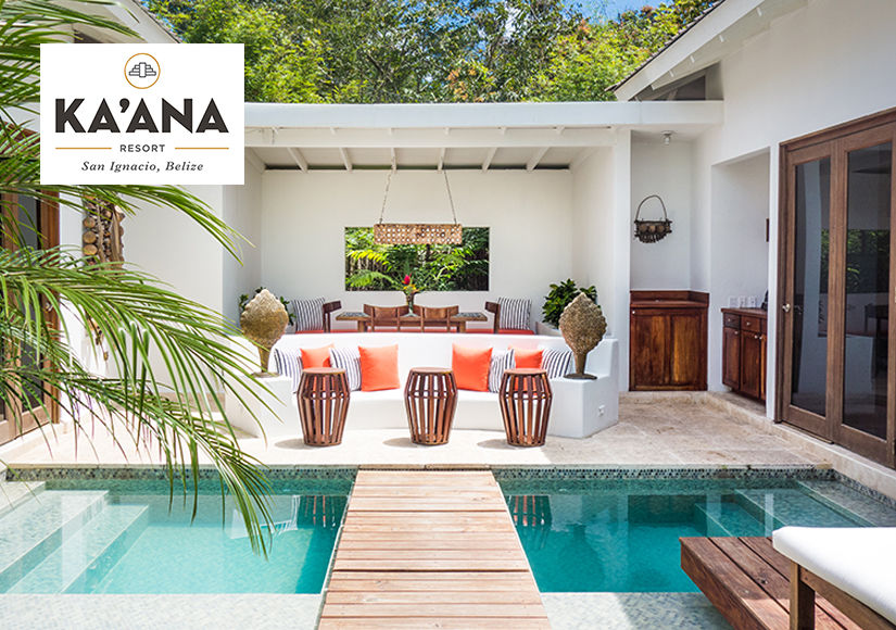 Win a trip for two to the Ka'ana Resort in Belize from Extra TV
