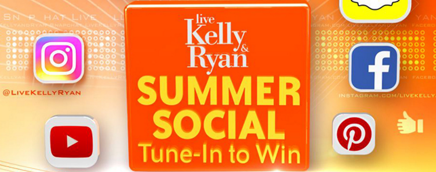 Live With Kelly & Ryan Summer Social Tune-In to Win Daily Answers