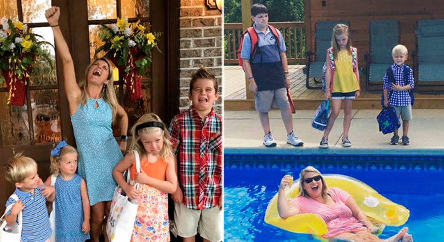 Calling all moms and dads! Enter Lifetime's Back to School sweepstakes by posting your hilarious back-to-school photos on Twitter and Instagram for a chance to win $500!